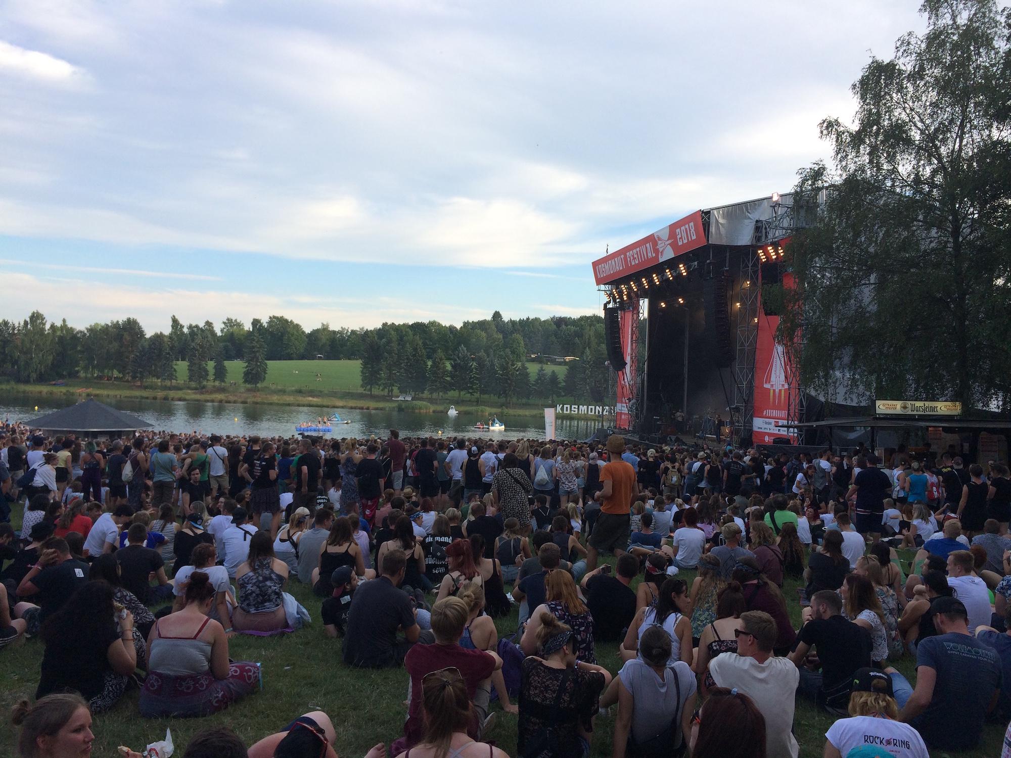Hauptbühne Kosmonaut Festival 2018 mit See